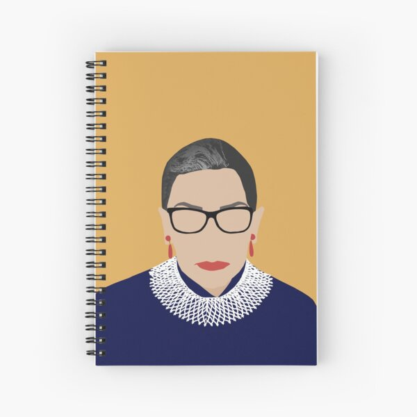 Ruth Bader Ginsburg  Spiral Notebook