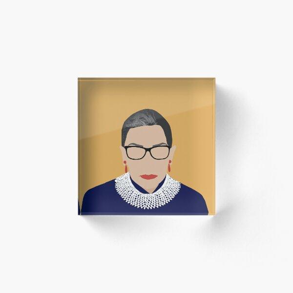 Ruth Bader Ginsburg  Acrylic Block