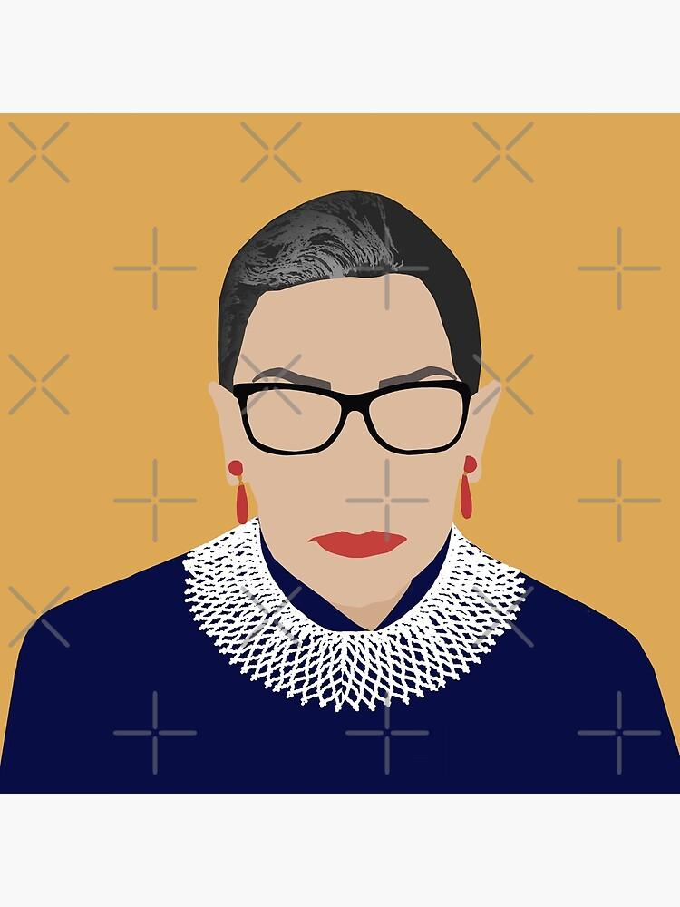 Ruth Bader Ginsburg  by thefilmartist