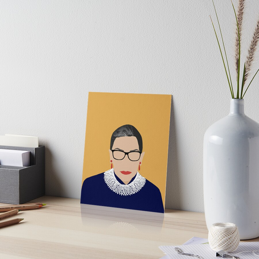 Ruth Bader Ginsburg  Art Board Print