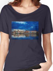 Fairy tale Prague Women's Relaxed Fit T-Shirt