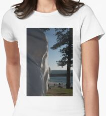 the face Women's Fitted T-Shirt