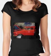 Classic Car 8 Women's Fitted Scoop T-Shirt