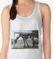 the horse Women's Tank Top