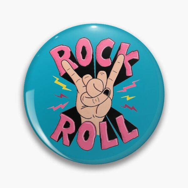 Rock & Roll Badge
