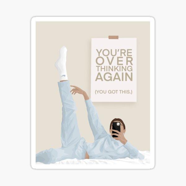 Sunday Best - Overthinking (Again) Sticker