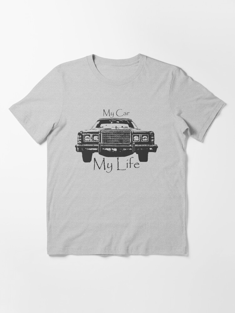 Alternate view of Abstract Cool Car Design My Car My Life Vintage car life  Essential T-Shirt