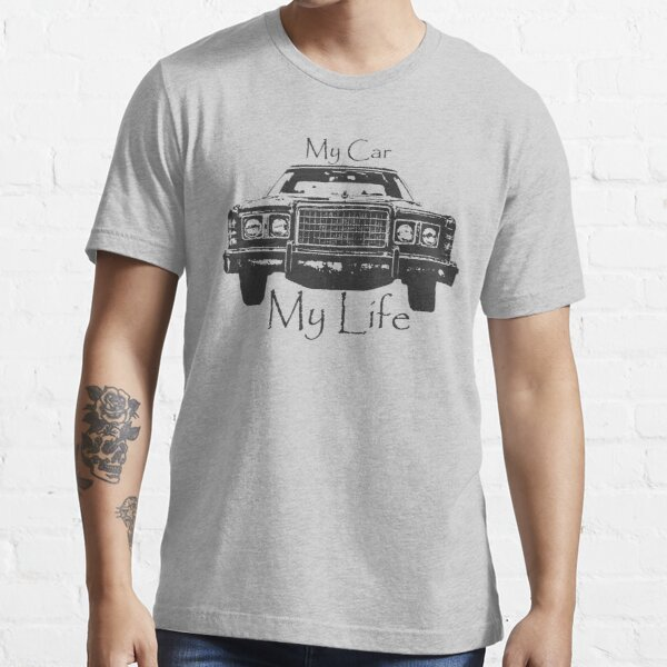 Abstract Cool Car Design My Car My Life Vintage car life  Essential T-Shirt