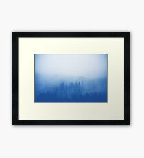 Mystic Blue Framed Print