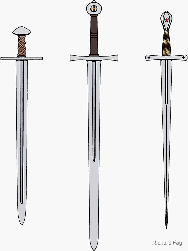 Three Medieval Swords 2016 by RHFay