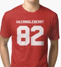 Hingle McCringleberry Jersey – East, Rhinos, Penn State Tri-blend T-Shirt