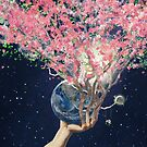 Love Makes The Earth Bloom by Paula Belle Flores