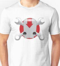 Robot Skull Unisex T-Shirt