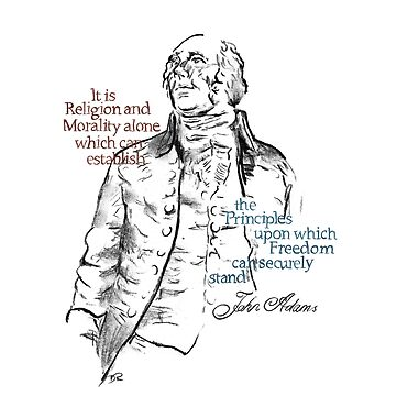 John Adams Picture Quote - Freedom by douglasrickard
