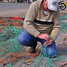 Mending Nets by lezvee