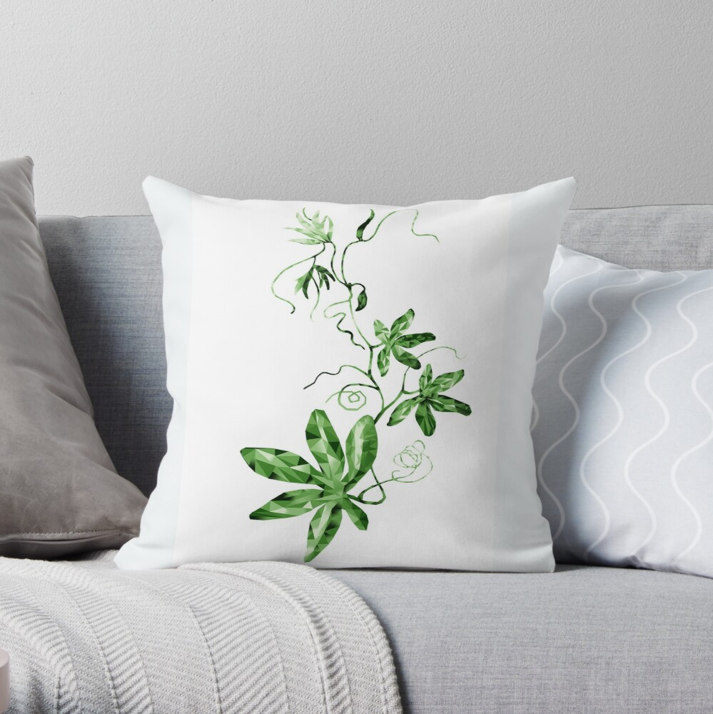 Coussin «My passiflore»