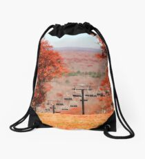 Autumn on Jack Frost Drawstring Bag