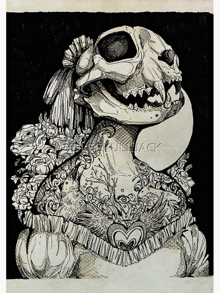 The Tattooed Girl by WOLFSKULLJACK