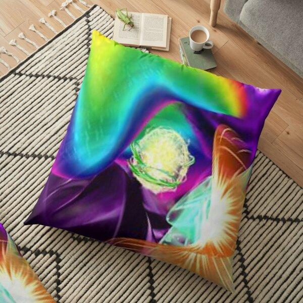 Mystical lightball Floor Pillow