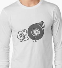 What does the turbo say? Long Sleeve T-Shirt
