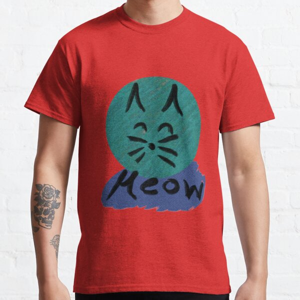 Die Katze macht miau Classic T-Shirt