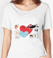Little Fish Props  Women's Relaxed Fit T-Shirt