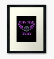Heavy Metal Machine Framed Print