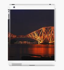 Forth Rail Bridge UNESCO Site iPad Case/Skin