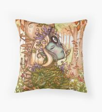 Goddess of Seasons Throw Pillow