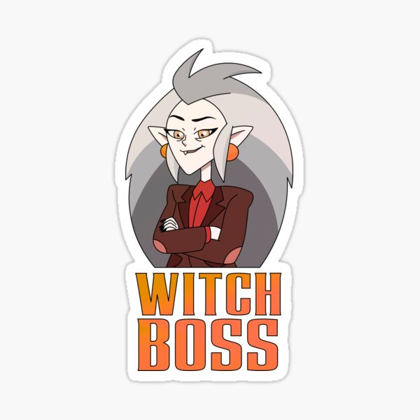 Eda Witch Boss The Owl House Sticker