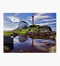 Cape Forchu Lightstation - Nova Scotia Photographic Print