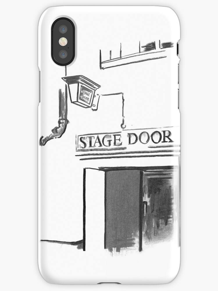 Stage Door London - Lyceum Theatre by Douglas Rickard