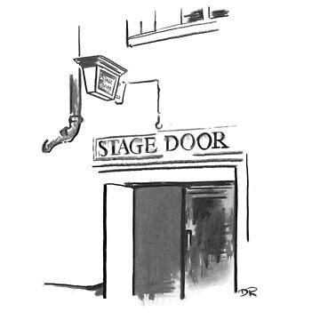 Stage Door London - Lyceum Theatre by douglasrickard