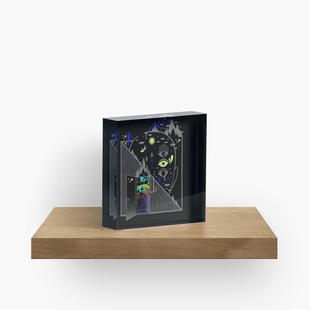 Downcast Acrylic Block
