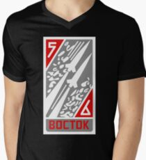 Vostok 5-6 Men's V-Neck T-Shirt