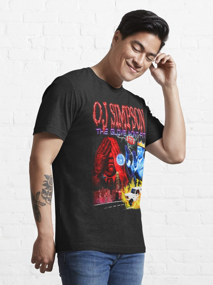 Alternate view of OJ Simpson - The Glove Dont Fit Essential T-Shirt
