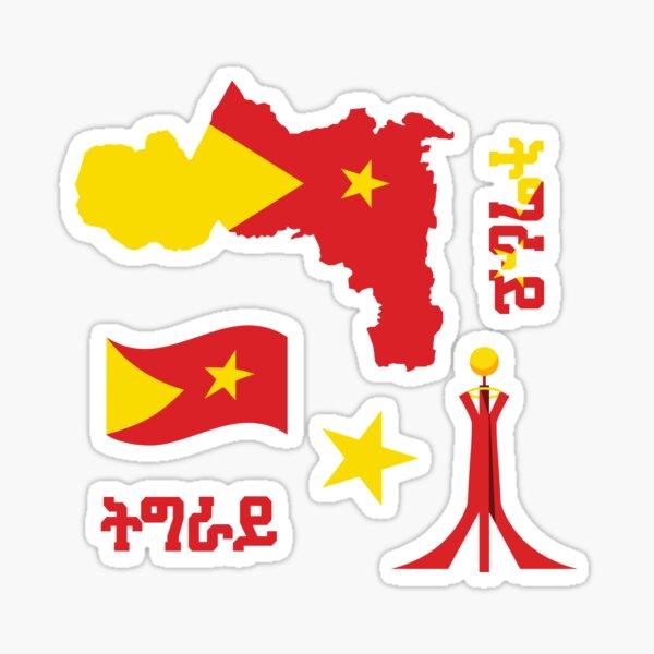 Tigray sticker pack Sticker