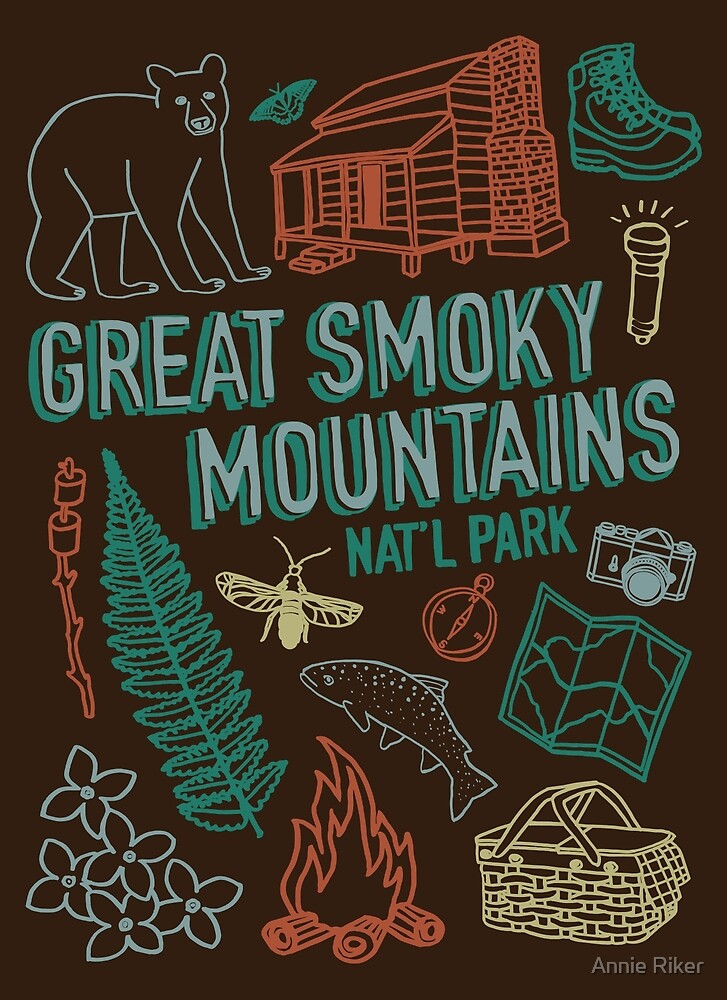 Great Smoky Mountains National Park by Annie Riker
