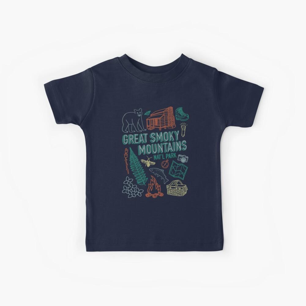 Great Smoky Mountains Nationalpark Kinder T-Shirt