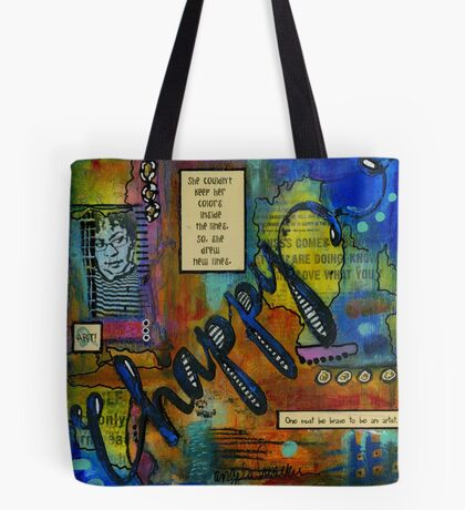The HAPPY Artist Tote Bag