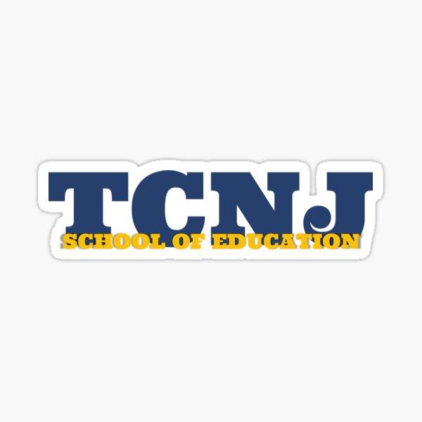 TCNJ School of Education Sticker