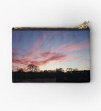 Welsh sunrise landscape Studio Pouch