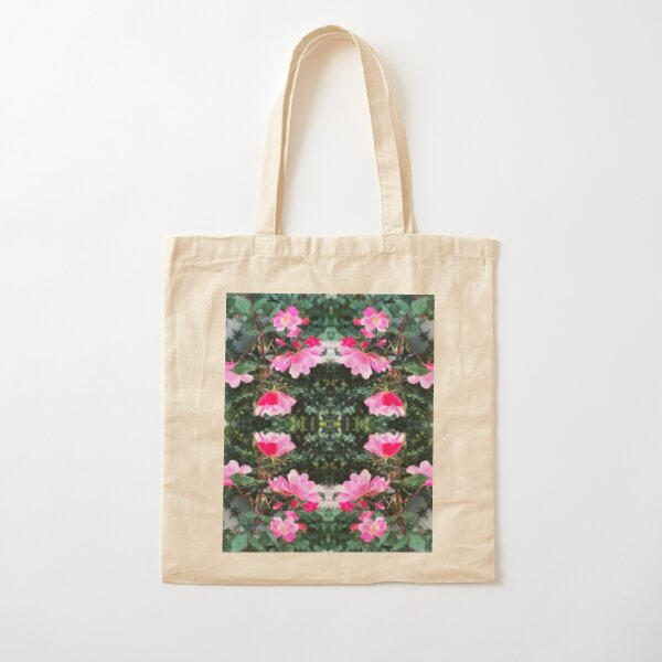 Candy Coated Roses Cotton Tote Bag