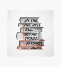 Margaret Atwood and Books  Scarf
