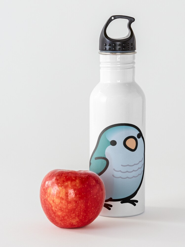 Alternate view of Chubby Blue Quaker Parrot Water Bottle