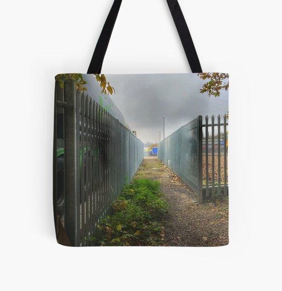 liminal path All Over Print Tote Bag