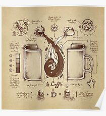 Le Coffee (Fluid of Creativity) Poster