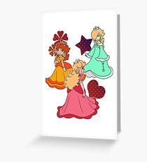 Three Princesses Greeting Card