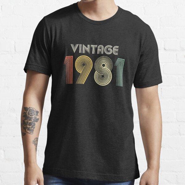 40th Birthday Vintage 1980 Gift Essential T-Shirt