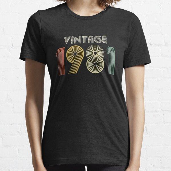 Anniversaire 1981 Vintage 1981 40 Ans en 2021 Vie Originale Sweat /à Capuche